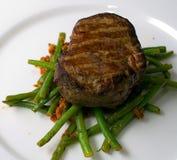 Bife da vitela fotos de stock