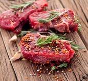 Bife de carne. fotos de stock royalty free