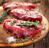 Bife de carne. fotografia de stock royalty free