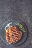 Bife de carne grelhado fotografia de stock