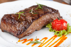 Bife de sirloin grelhado foto de stock royalty free