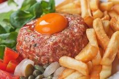 Bife de tártaro Imagens de Stock Royalty Free