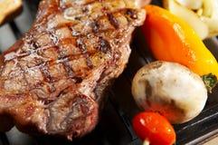 Bife do BBQ Imagens de Stock