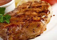 Bife do lombo grelhado foto de stock