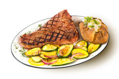 Bife do T-Bone Foto de Stock