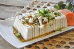 Bife do Tofu, alimento da fusão Imagens de Stock Royalty Free