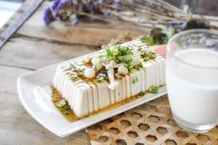 Bife do Tofu, alimento da fusão Imagem de Stock Royalty Free