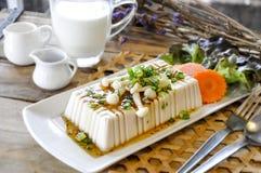 Bife do Tofu, alimento da fusão Fotografia de Stock