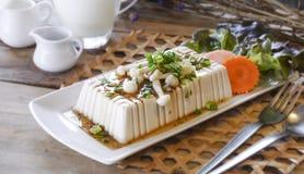 Bife do Tofu, alimento da fusão Imagens de Stock