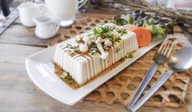 Bife do Tofu, alimento da fusão Fotografia de Stock Royalty Free