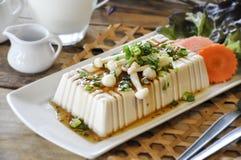 Bife do Tofu, alimento da fusão Foto de Stock