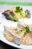 Bife do vegetariano em Tailândia feita do tofu Fotos de Stock Royalty Free