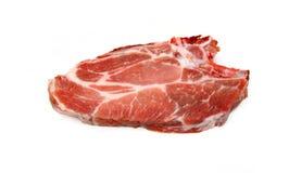 Bife fresco da carne de porco imagem de stock