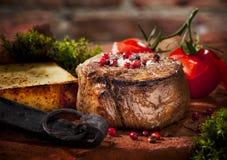 Bife grelhado Imagem de Stock