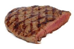 Bife grelhado com sangue imagem de stock