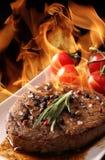 Bife grelhado da carne Foto de Stock