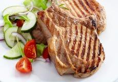 Bife grelhado da carne imagem de stock