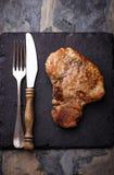 Bife grelhado do T-bone Fotografia de Stock Royalty Free