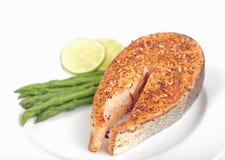 Bife Salmon Imagem de Stock Royalty Free