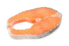 Bife Salmon Imagens de Stock
