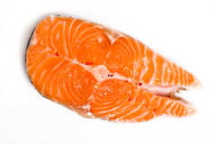 Bife Salmon Fotos de Stock Royalty Free