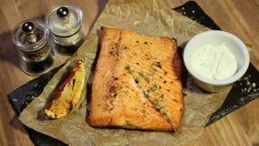 Bife salmon delicioso filme
