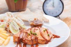 Bifes da carne de porco Imagens de Stock Royalty Free