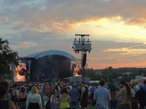 Biffy Clyro bij het Festival van het Eiland Wight Stock Foto's