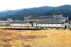 Bifogat hus för Mantang Hakka Arkivbilder