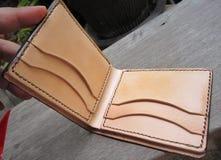Bifold portfel 01 Obrazy Stock