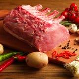 Bifteck avec des légumes image libre de droits