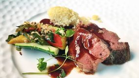 Bifteck cru Image stock