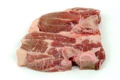 bifteck cru de viande Photos stock
