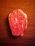 Bifteck cru frais photo stock