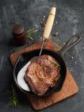 Bifteck délicieux Photo libre de droits