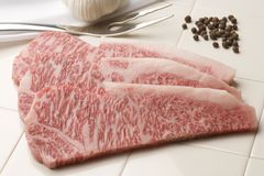 Bifteck d'aloyau photos stock