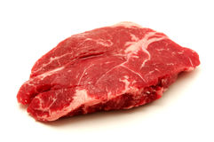 Bifteck d'aloyau cru Images stock