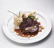 Bifteck d'autruche Images libres de droits