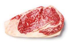 Bifteck d'oeil de nervure de boeuf Photographie stock libre de droits