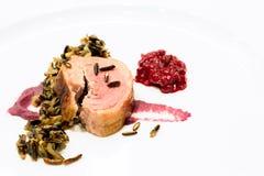 Bifteck d'oie Photographie stock libre de droits