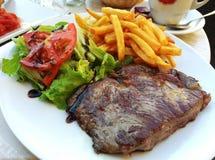 Bifteck de barbecue de boeuf Photos libres de droits