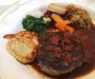 Bifteck de BBQ de boeuf Image stock