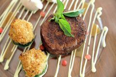 Bifteck de boeuf Photos libres de droits