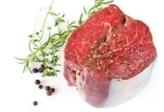 Bifteck de boeuf Photos stock