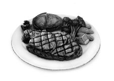 Bifteck de boeuf Images libres de droits