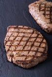 Bifteck de boeuf grillé Photographie stock libre de droits