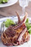 Bifteck de côtelette d'agneau Photo libre de droits