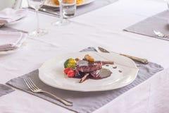 Bifteck de jambe d'agneau Photo libre de droits