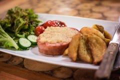 Bifteck de jambon Images stock