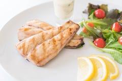 Bifteck de poissons de maquereau Images stock